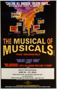 The Musical of Musicals (2009 & 2010)