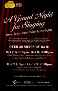 A Grand Night for Singing (2011)