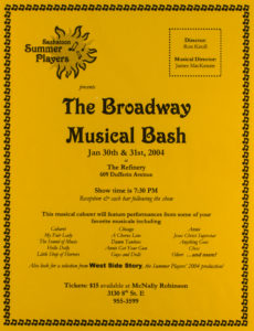 The Broadway Musical Bash (2004)