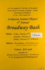 Broadway Bash (2007)