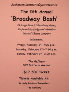 Broadway Bash (2008)